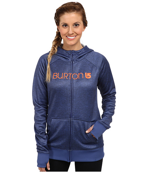 Burton - Scoop Hoodie (Royal Blue Heather) Women