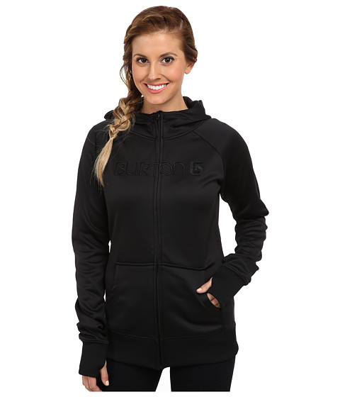 Burton - Scoop Hoodie (True Black) Women's Sweatshirt