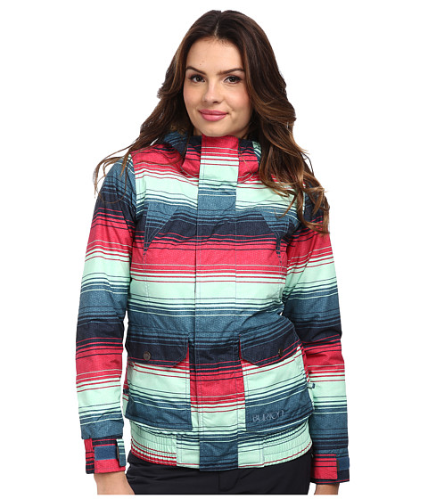 Burton - Cassidy Jacket (Scout Picnic Blanket Stripe) Women's Jacket