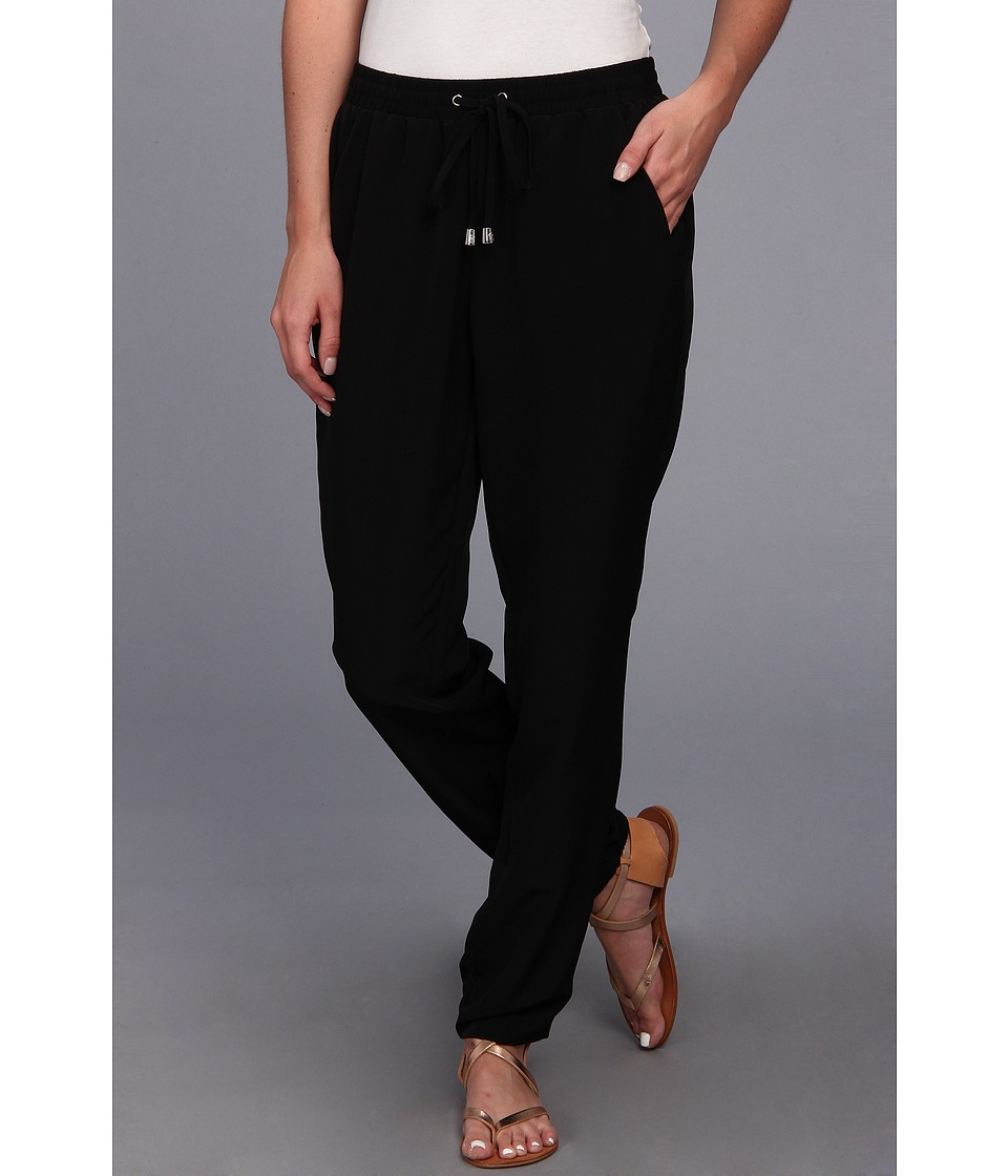 Vince Camuto - Track Pant (Rich Black) Women's Casual Pants
