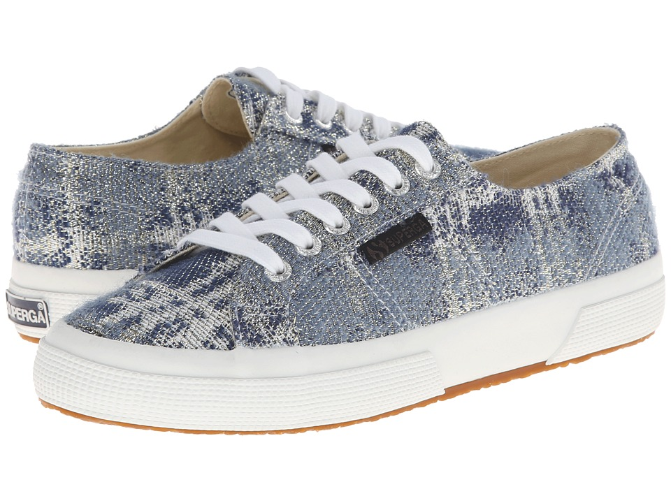 Superga - The Man Repeller x Superga - 2750 Metallicotw (Blue) Women