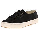 Superga The Man Repeller x Superga - 2750 Satinw (Black)
