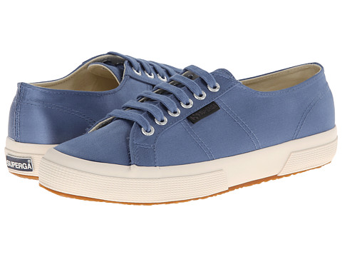 Superga - The Man Repeller x Superga - 2750 Satinw (Demin Blue) Women's Lace up casual Shoes
