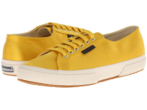Superga - The Man Repeller x Superga - 2750 Satinw (Mustard Yellow) Women's Lace up casual Shoes