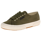 Superga The Man Repeller x Superga - 2750 Satinw (Olive Green)