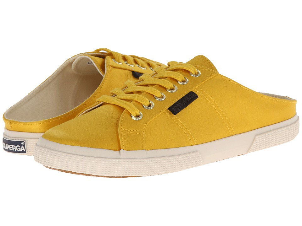 Superga - The Man Repeller x Superga - 2288 Satinw (Mustard Yellow) Women's Lace up casual Shoes