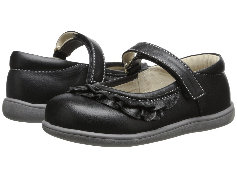 See Kai Run Kids - Belle (Infant/Toddler) (Black) Girls Shoes