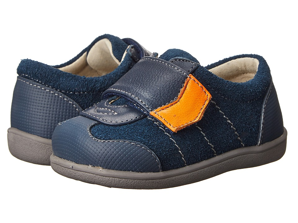 See Kai Run Kids - Kanoa (Infant/Toddler) (Navy) Boys Shoes