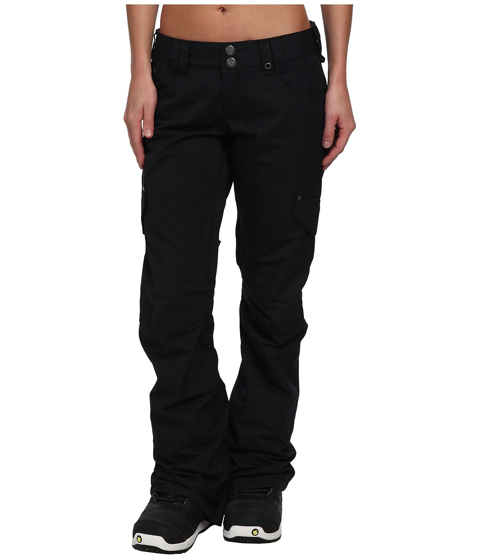 Burton - TWC Miss Wilds Pant (True Black) Women's Casual Pants