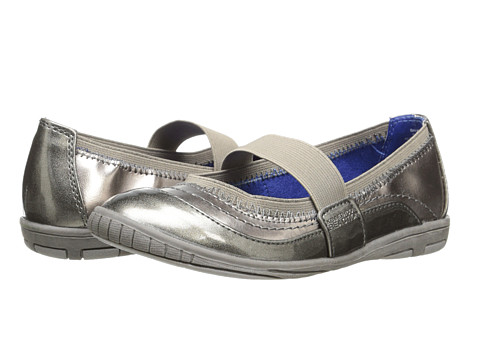 Kenneth Cole Reaction Kids - Bark My Word (Little Kid/Big Kid) (Pewter) Girl's Shoes