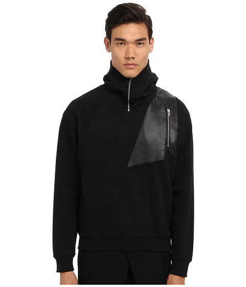 McQ - Fetish Hoodie (Darkest Black) Men