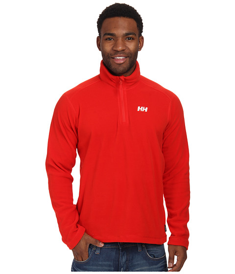 Helly Hansen - Daybreaker 1/2 Zip Fleece (Alert Red) Boy's Fleece