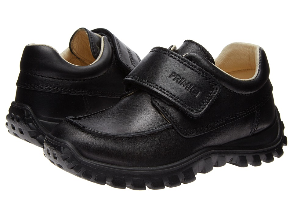 Primigi Kids - Walker-E (Toddler/Little Kid) (Black) Boys Shoes