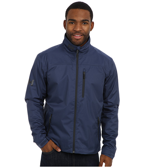 Helly Hansen - Crew Midlayer Jacket (Deep Steel) Boy's Coat