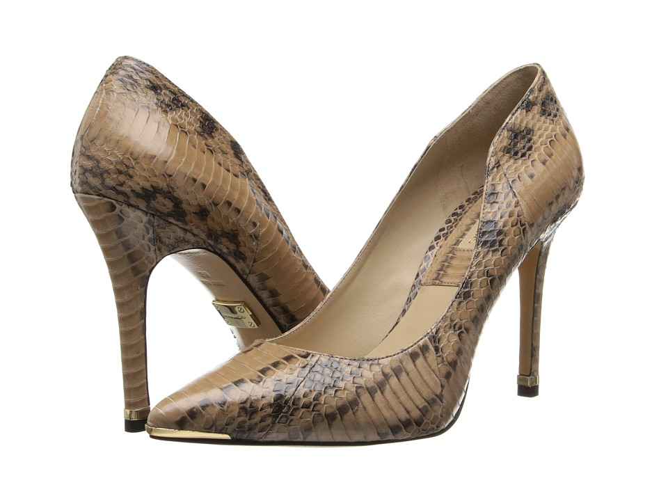 Michael Kors - Avra (Toffee Genuine Snake) High Heels