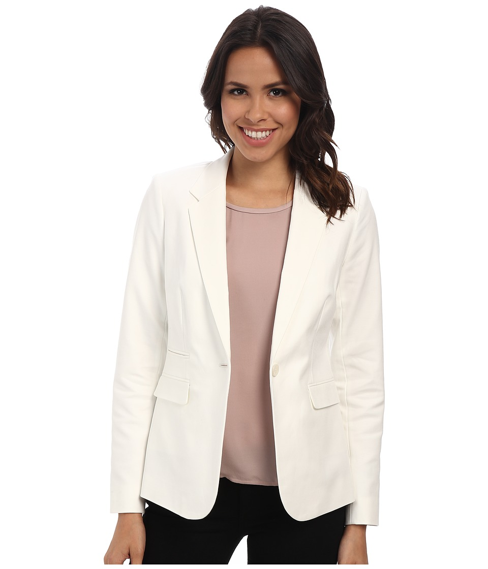 Vince Camuto - One Button Blazer (New Ivory) Women's Jacket