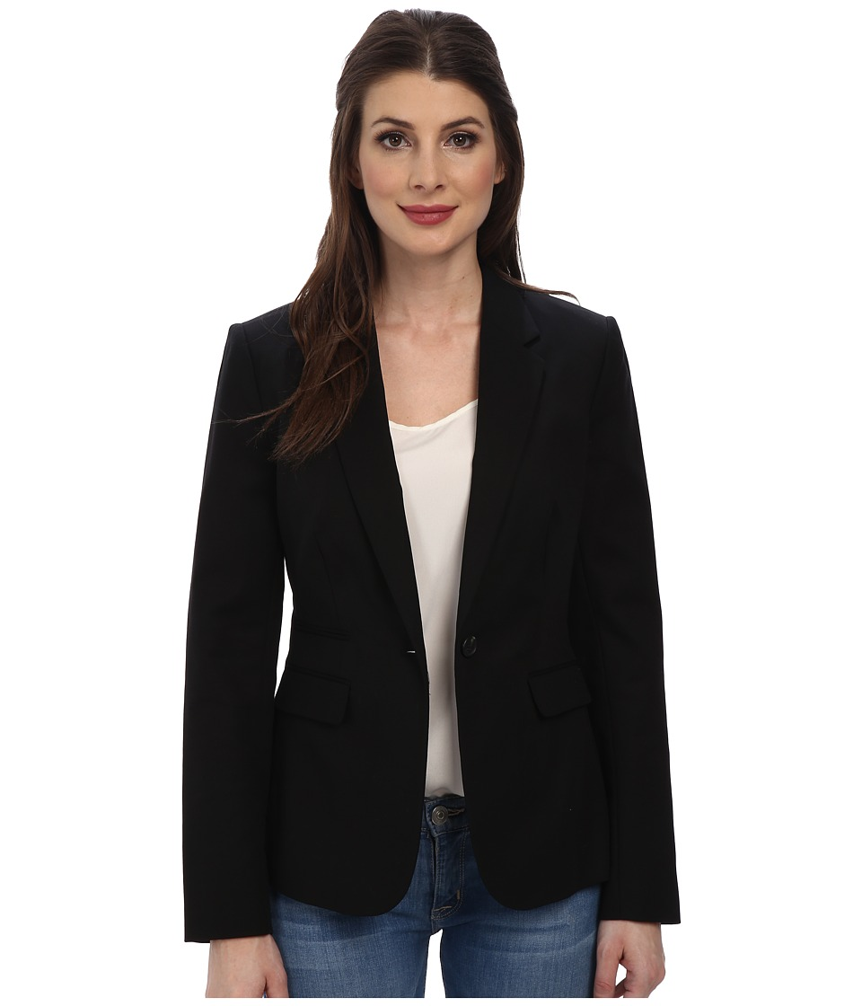 Vince Camuto - One Button Blazer (Rich Black) Women's Jacket