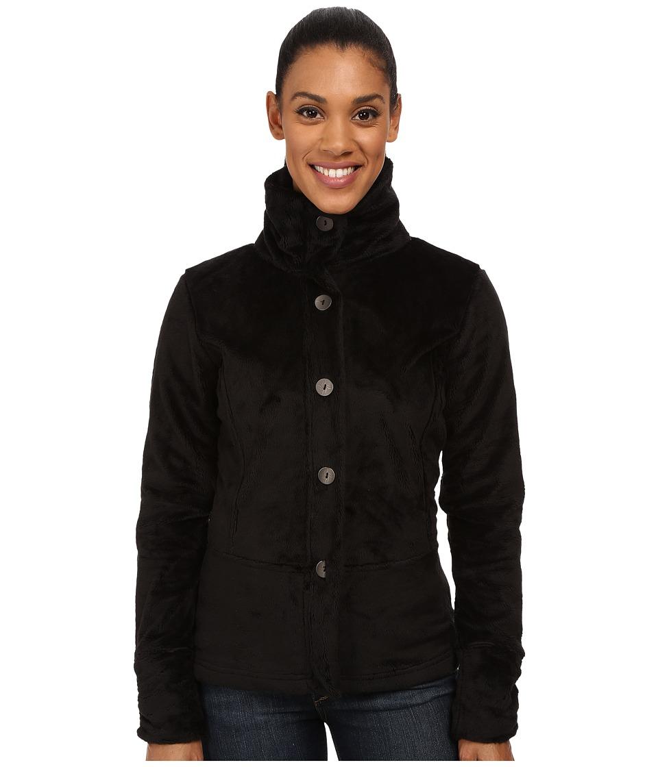 Hot Chillys - La Reina Peplum Jacket (Black) Women's Jacket
