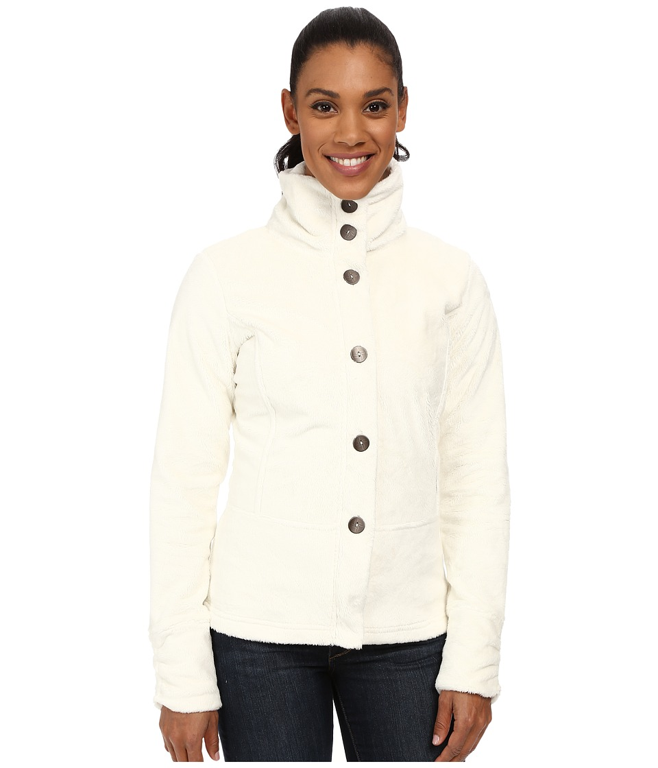 Hot Chillys - La Reina Peplum Jacket (Cr me) Women's Jacket