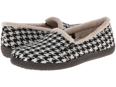 VIONIC with Orthaheel Technology - Geneva Slipper (Houndstooth) Women