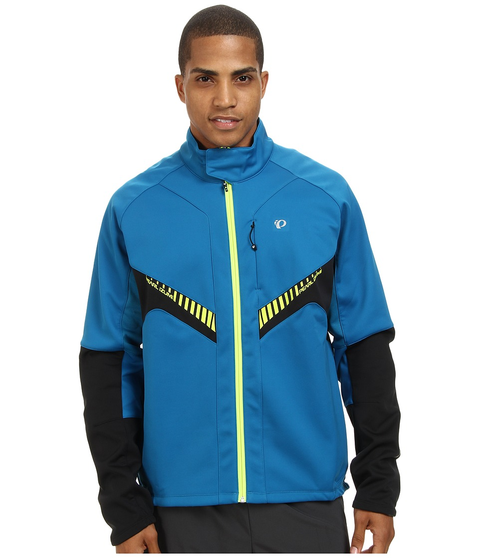 Pearl Izumi Elite Softshell Jacket (Mykonos Blue/Black) Men