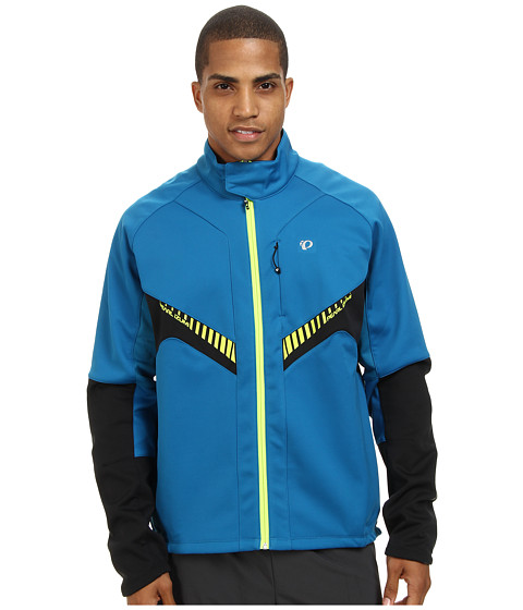 Pearl Izumi - Elite Softshell Jacket (Mykonos Blue/Black) Men