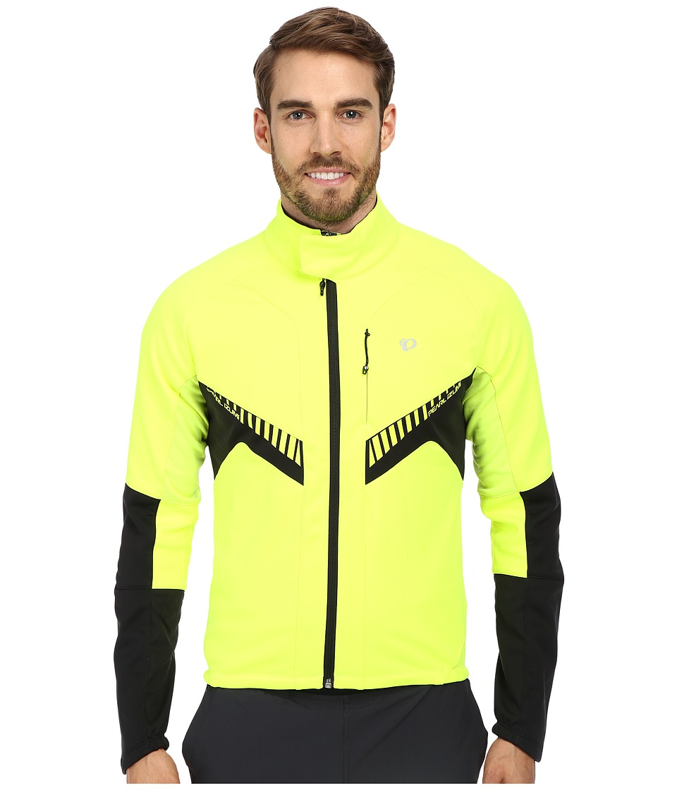 Pearl Izumi - Elite Softshell Jacket (Screaming Yellow/Black) Men's Jacket