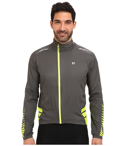 Pearl Izumi - ELITE Barrier Jacket (Shadow Grey/Screaming Yellow) Men's Jacket