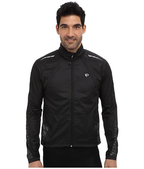Pearl Izumi - Elite Barrier Convertible Jacket (Black) Men's Coat