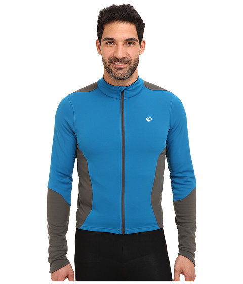 Pearl Izumi - Select Thermal Jersey (Mykonos/Shadow Grey) Men's Long Sleeve Pullover