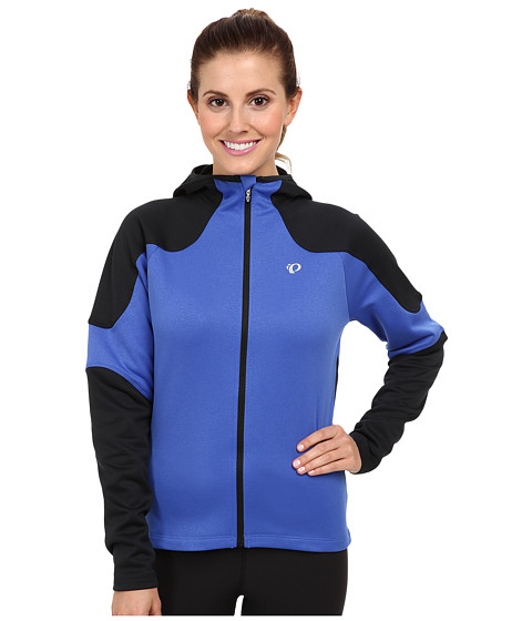Pearl Izumi - Elite Thermal Cycling Hoodie (Dazzling Blue) Women's Workout