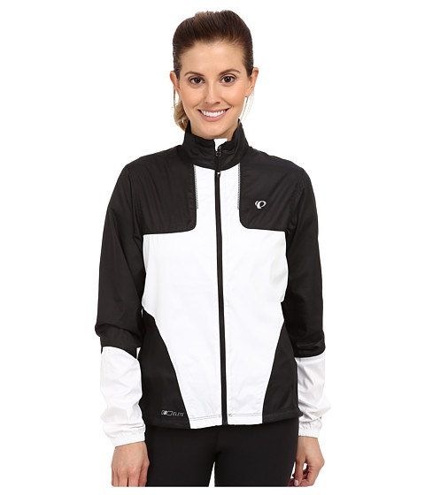 Pearl Izumi - ELITE Barrier Jacket (Black/White) Women's Workout
