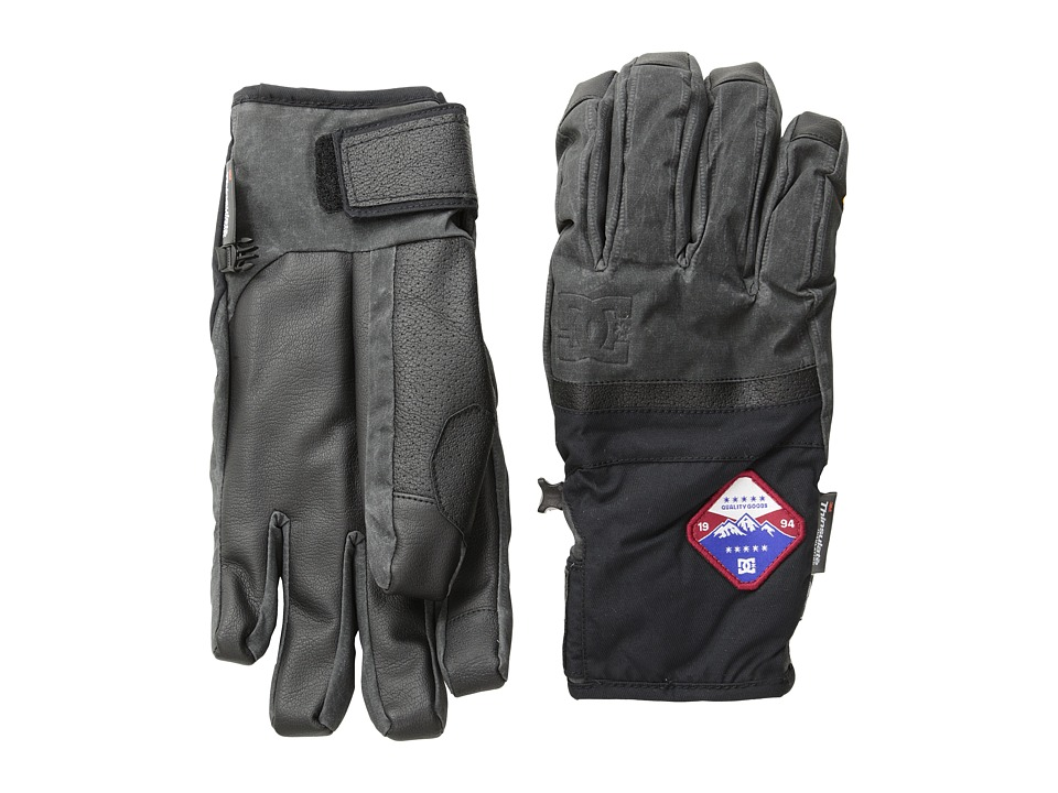 DC - Hiked 15 Glove (Caviar) Extreme Cold Weather Gloves
