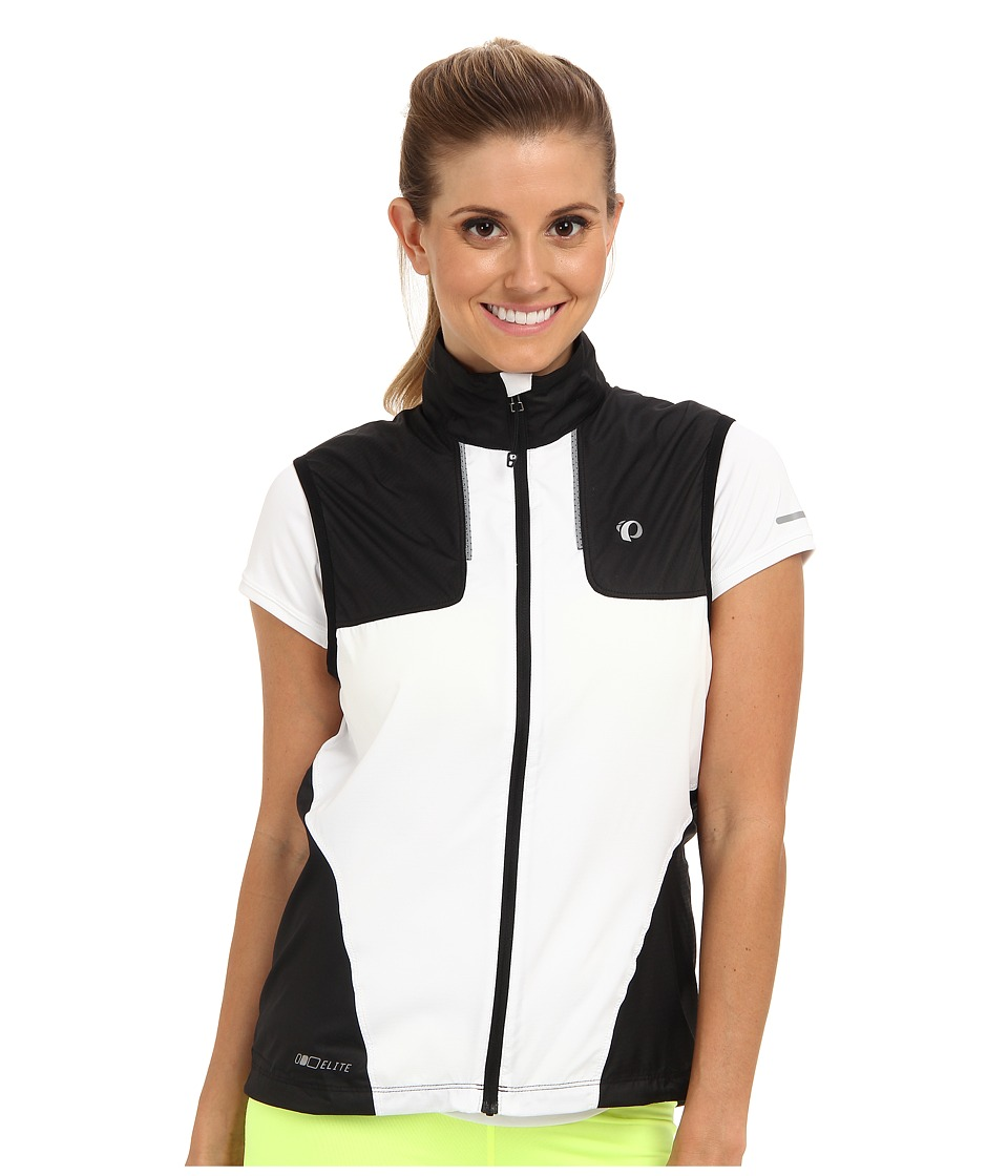 Pearl Izumi - ELITE Barrier Vest (Black/White) Women's Vest