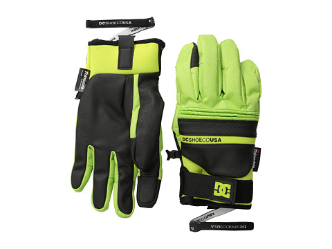DC - Mizu 15 Glove (Lime Green) Extreme Cold Weather Gloves