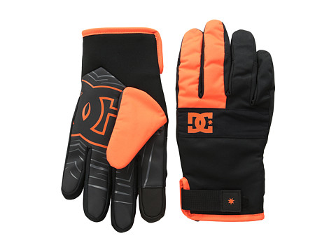DC - Antuco 15 Glove (Shocking Orange) Extreme Cold Weather Gloves
