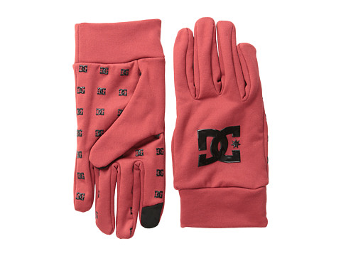 DC - Olos 15 Liner Glove (Rio Red) Extreme Cold Weather Gloves