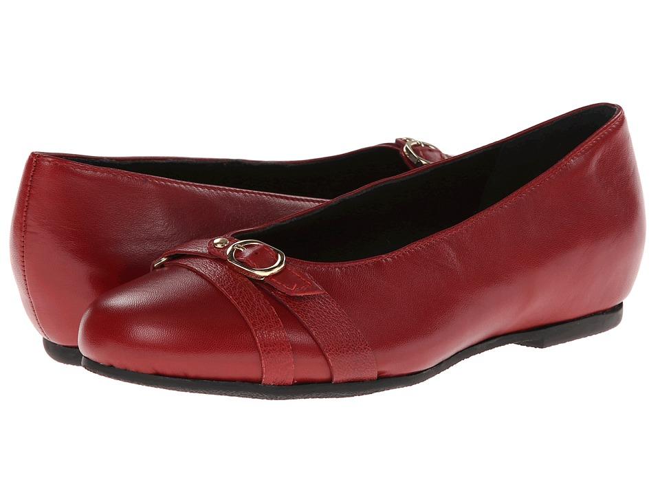 Munro - Josie (Red Kid) Women's Flat Shoes