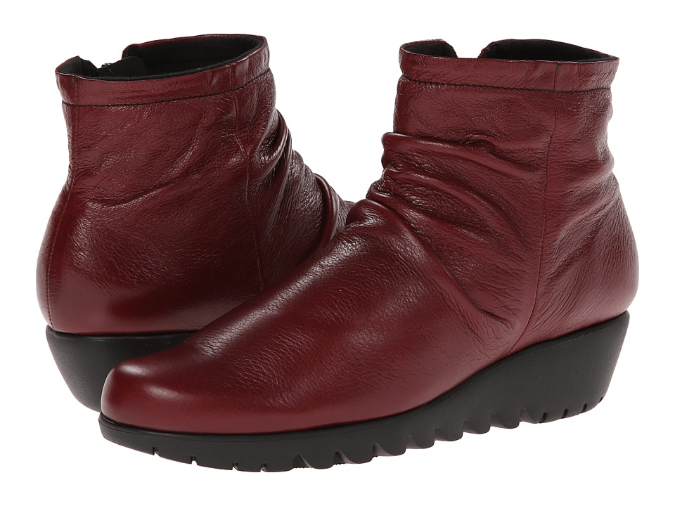 Munro - Riley (Red Leather) Women's Boots