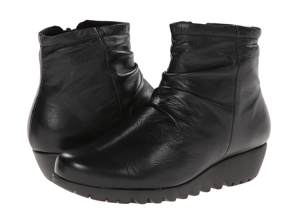 Munro - Riley (Black Leather) Women's Boots