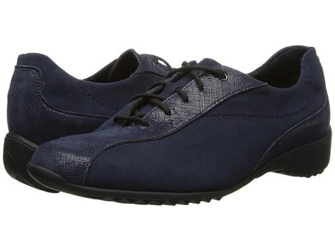 Munro American - Sydney (Blue Suede/Crosshatch) Women