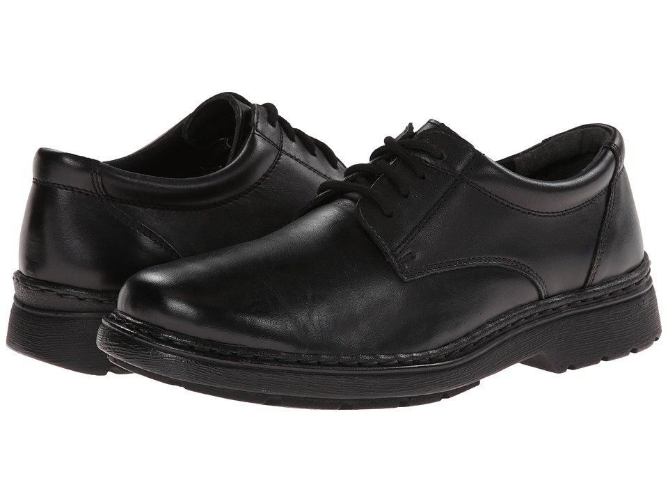 Jumping Jacks Kids - Ted (Adult) (Black Leather) Boys Shoes