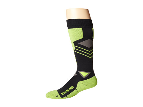 DC - Merino Muty 15 Sock (Safety Yellow) Men's Knee High Socks Shoes