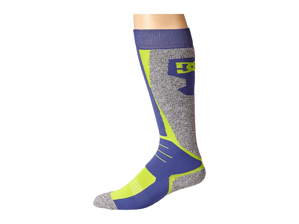 DC - Cirque 15 Sock (Lime Green) Men's Knee High Socks Shoes
