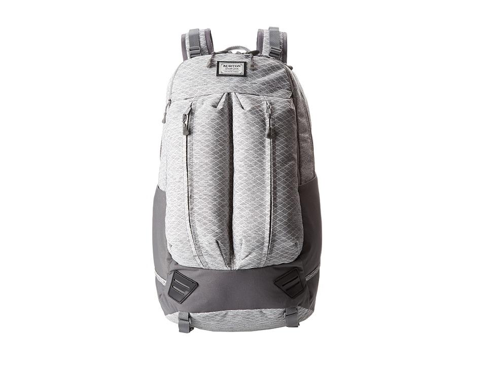 Burton - Bravo Pack (Gray Heather Diamond Ripstop) Backpack Bags