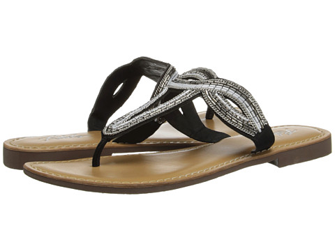 Rebels - Delmi (Black) Women's Sandals