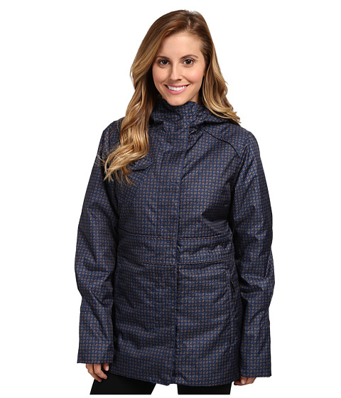 Lole - Madelia Jacket (Estate Blue Pie De Gallo) Women's Coat