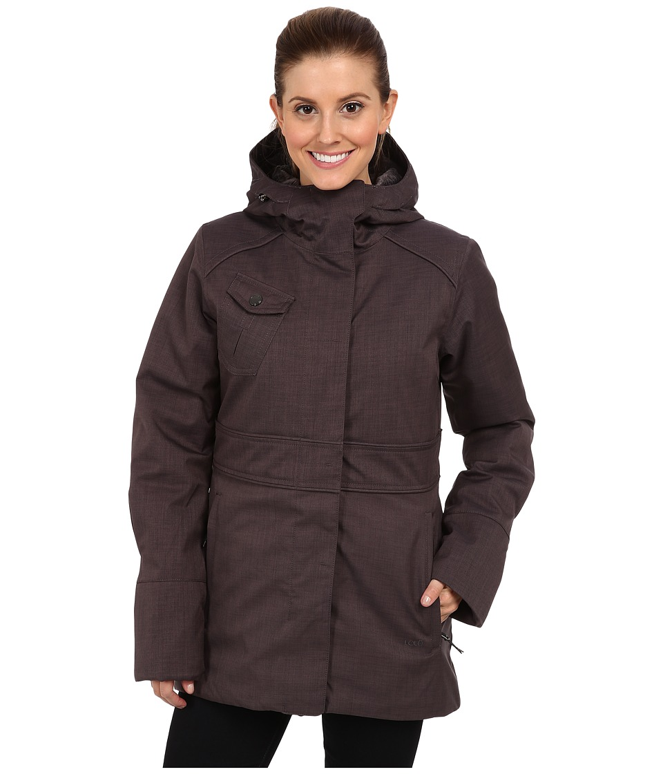Lole - Madelia Jacket (Charcoal) Women's Coat