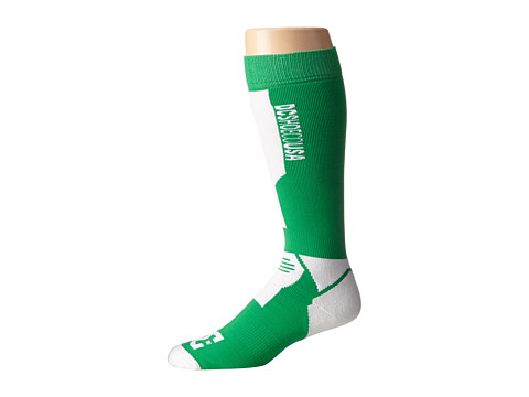 DC - Apache 15 Sock (Bright Green) Men's Knee High Socks Shoes