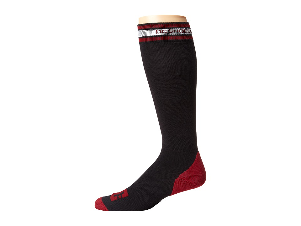 DC - Apache Light 15 Sock (Caviar) Men's Knee High Socks Shoes